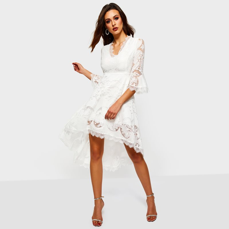 487bfeed0f Casual dresses are the most commonly seen dresses for women among all  clothing. A pair of black ladies dress can make woman look soft and charming  more than ...