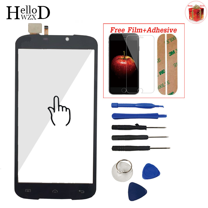 Touch Screen For Doogee X6 / X6 Pro Front Class Touch Screen Digitizer Panel Assembly Lens Sensor Screen Mobile Phone Protector