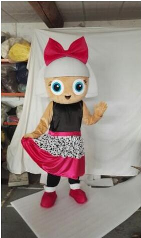 New Adult Lol Doll Party Mascot Costume Christmas Fancy