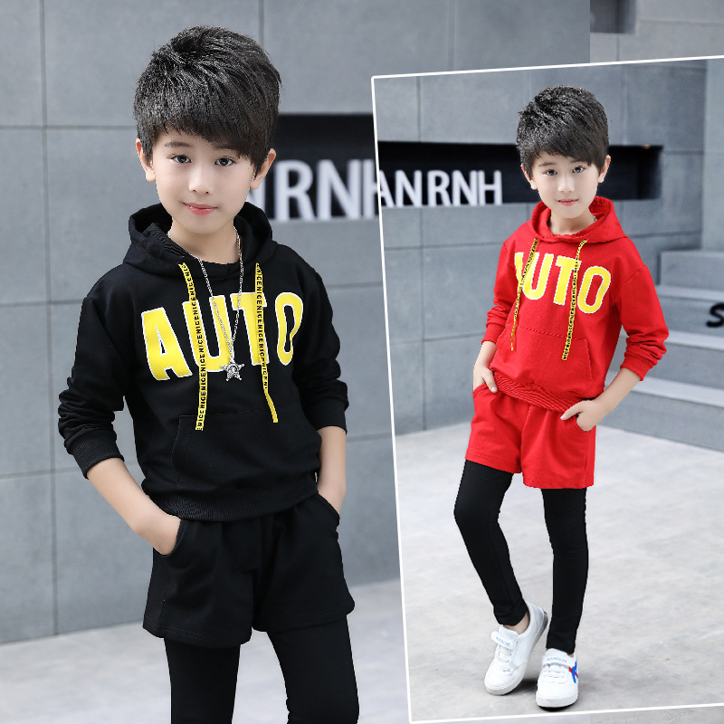 kids boy sport suit set baby boys sets 2018 autumn spring children boy suits sets clothing 2 pcs set hooded clothes & pants