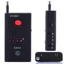 Беспроводной сигнала анти детектор прослушивания мини Анти-шпион обнаружитель подслушивающих устройств Камера Скрытая Tracker металлический Finder
