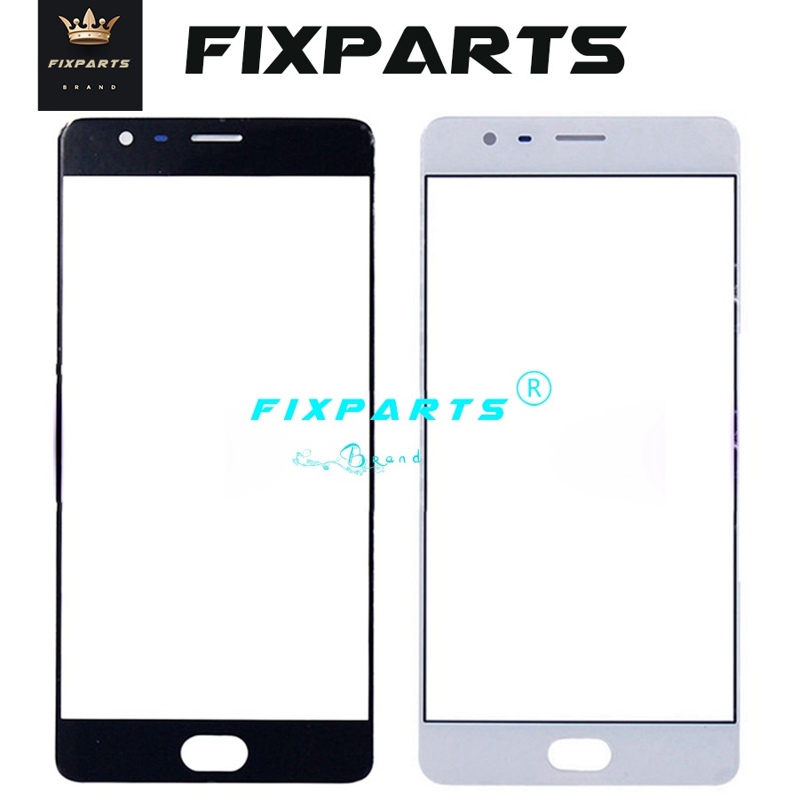 "For Oneplus 3 3T Front Screen Glass Outer Lens 5.5"" Oneplus3 Touch Panel Replacement Oneplus X 5 Oneplus5 5T 2 Panel Black/White-in Mobile Phone Touch Panel from Cellphones & Telecommunications on Aliexpress.com 