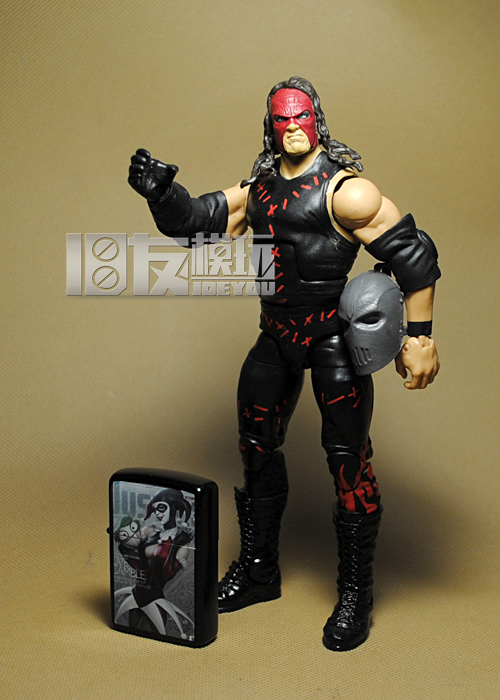 Limited! 17CM High Classic Toy Super Movable Wrestler occupation wrestling gladiators Mask Kaine action figure Toys