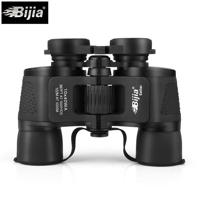 BIJIA 10X40 grand Angle chasse sport télescope professionnel jumelles haute définition vivant étanche