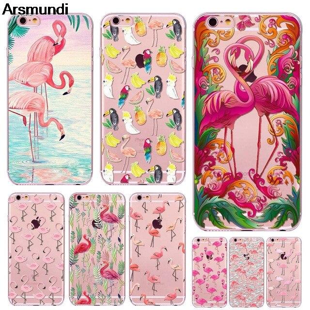 Arsmundi font b 2018 b font new Brilliant Flamingo Phone Cases for font b iPhone b