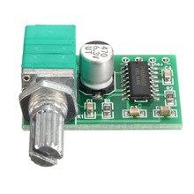 PAM8403 5V 2 Channel USB Power Audio Amplifier Module Board 3Wx2 Volume Control New
