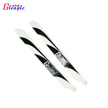 Gleagle 1 Pair Carbon Fiber Propellers Main Blades (360mm) for 480N Fuel Helicopter
