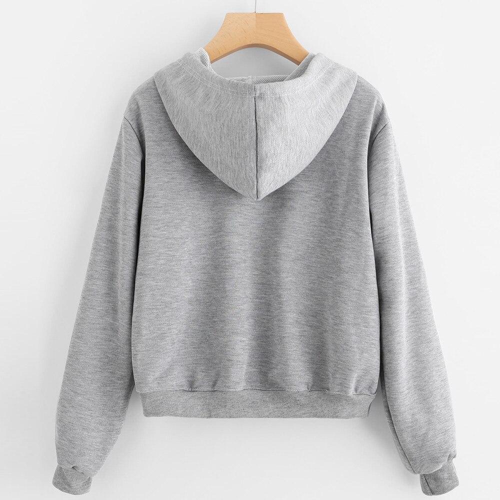 Terbaik Penjualan Kaus Wanita Indah Kaktus Pot Cetak Hoodie Sweater Panjang 56 Cm 220