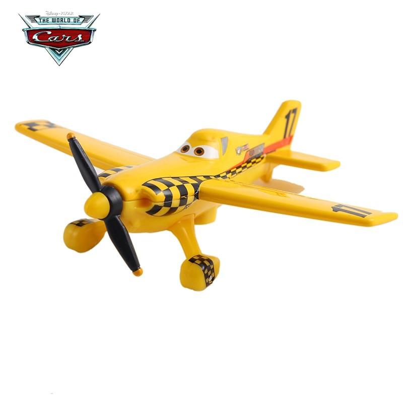 Disney Pixar Cars 3 Airplane Lightning McQueen Jackson Storm Mater 1:55 Diecast Metal Alloy Model Car Toy  Gift Children Boys
