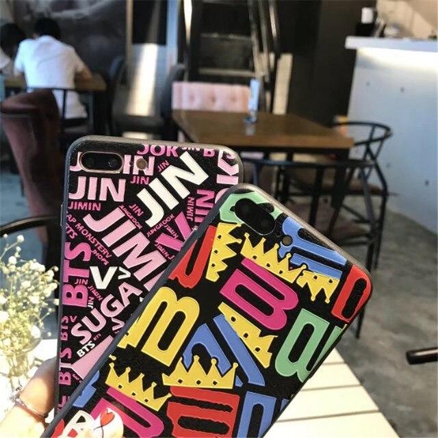 BigBang and BTS iPhone Case