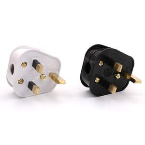 Image 3 - Hi End Audio MS UK кабель питания переменного тока, разъем питания, Великобритания, 3 контактный переключатель, 250 В, 13 а, Вилка питания переменного тока