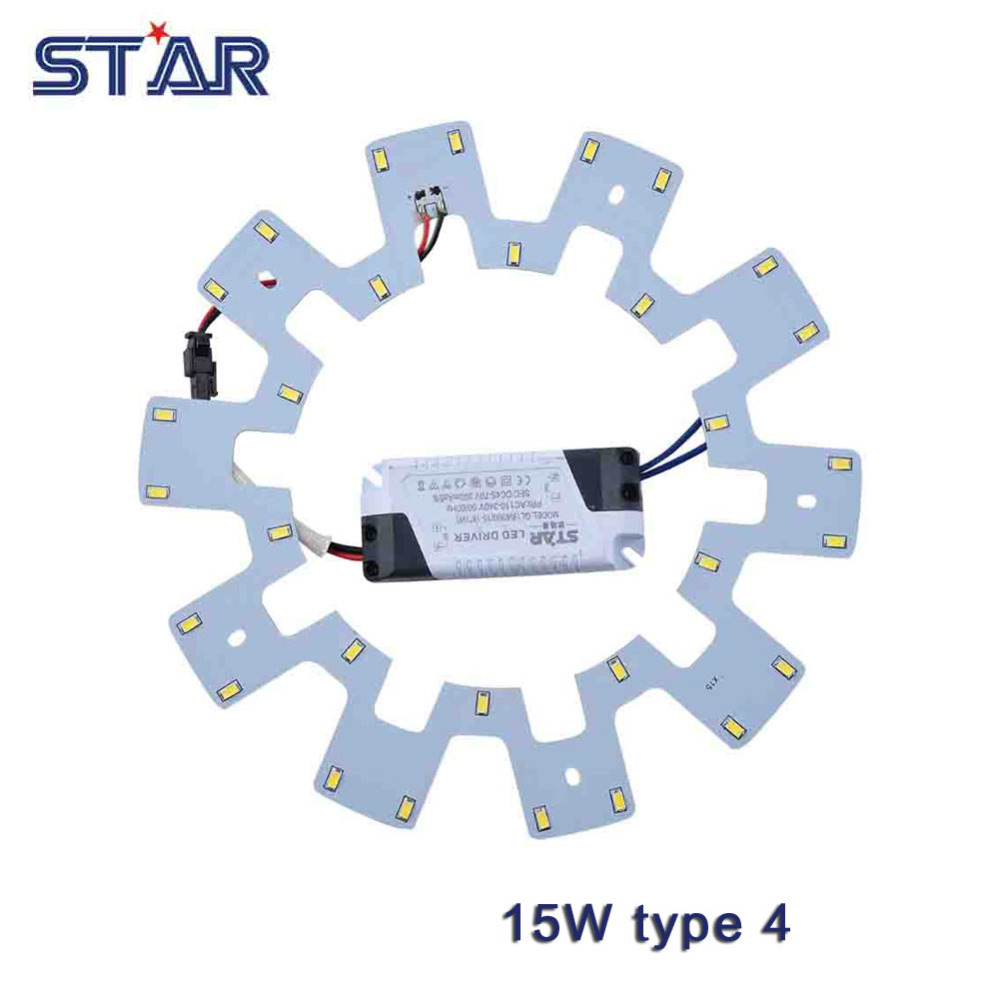 15w Led Ceiling Light Diy Replacement Magnet Board Pcb