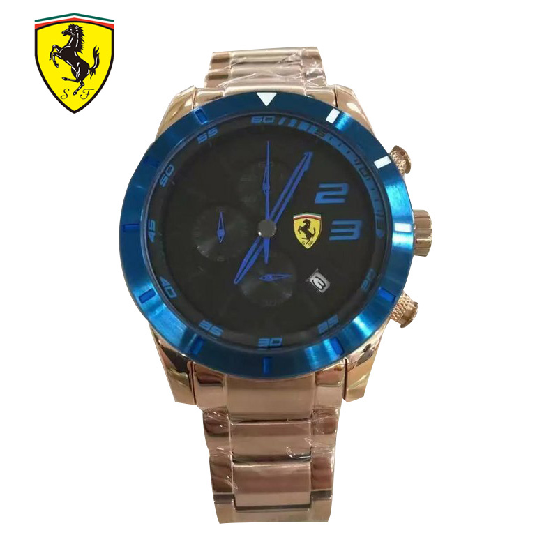 FERRARI Brands Classic Business Men Watches Fashion Casual Luxury - Relojes para hombres - foto 3