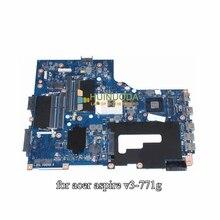 NBM7Q11001 NB.M7Q11.001 VA70 VG70 For Acer aspire V3-771 V3-771G Laptop Motherboard 17.3 inch HD4000 GT730M DDR3
