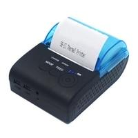 ZJ 5805 58mm Portable Bluetooth 4 0 Android 4 0 POS Receipt Thermal Printer Bill Machine