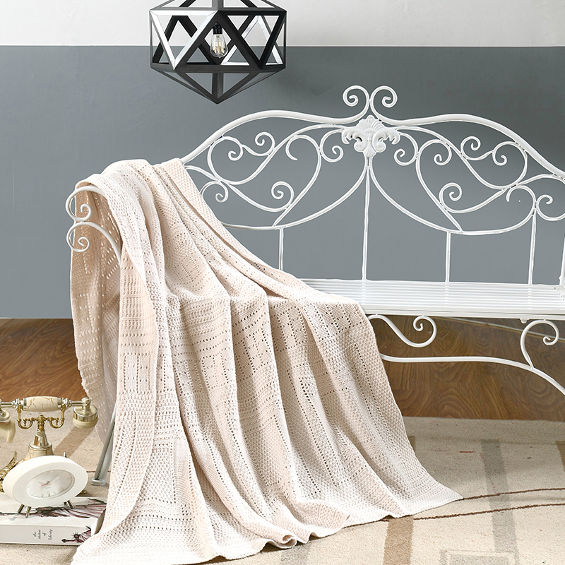 Luxus Handgemachte Hkelarbeit Stoff Schne Schlafende Wirft Bequem Und Warm Bergrossen Sofa Quilt Wohnzimmer Decke