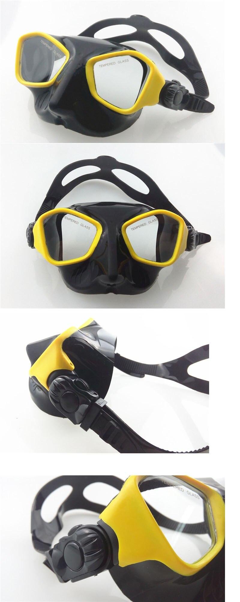 e engrenagens mergulho temperado máscara de mergulho