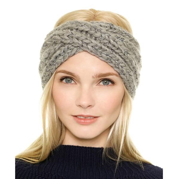 tricoter un bonnet bandeau