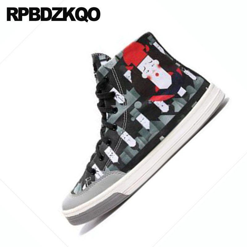 c2affae632033 ... Marca black Ocasionales Tamaño De Black Pista 1 Lujo La Hombres 2  Pintura Skate Pisos Hop ...