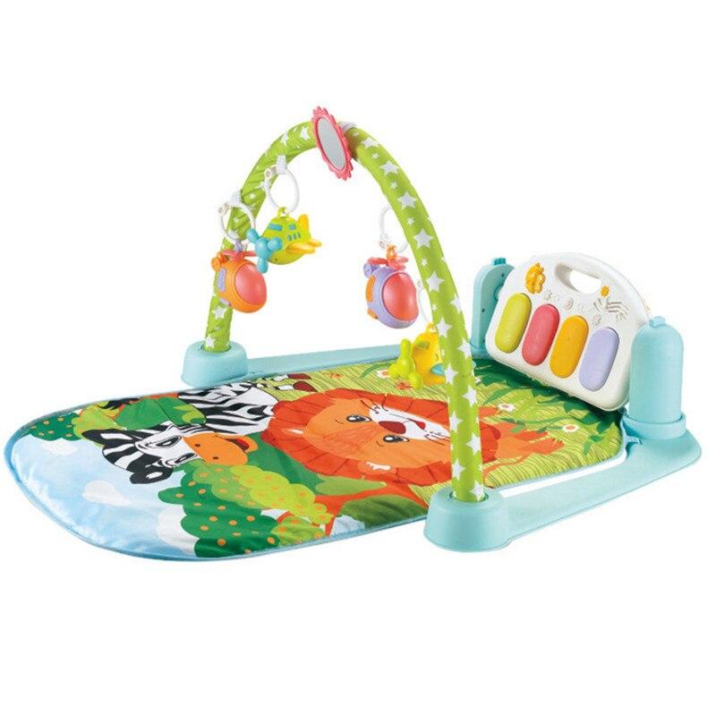 Tapis de jeu de bébé tapis de Puzzle éducatif avec clavier de Piano et mignon Animal bébé Gym ramper activité tapis jouets