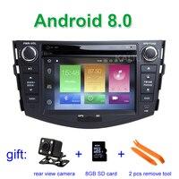 IPS screen 4G RAM Android 8.0 Car DVD Multimedia Player for Toyota RAV 4 RAV4 2006 2012 with Wifi BT Radio stereo GPS
