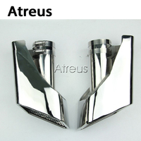 Atreus 1sets For 2005 2012 Land Rover Range Rover Gasoline Accessories Chrome 304 Stainless Steel Car