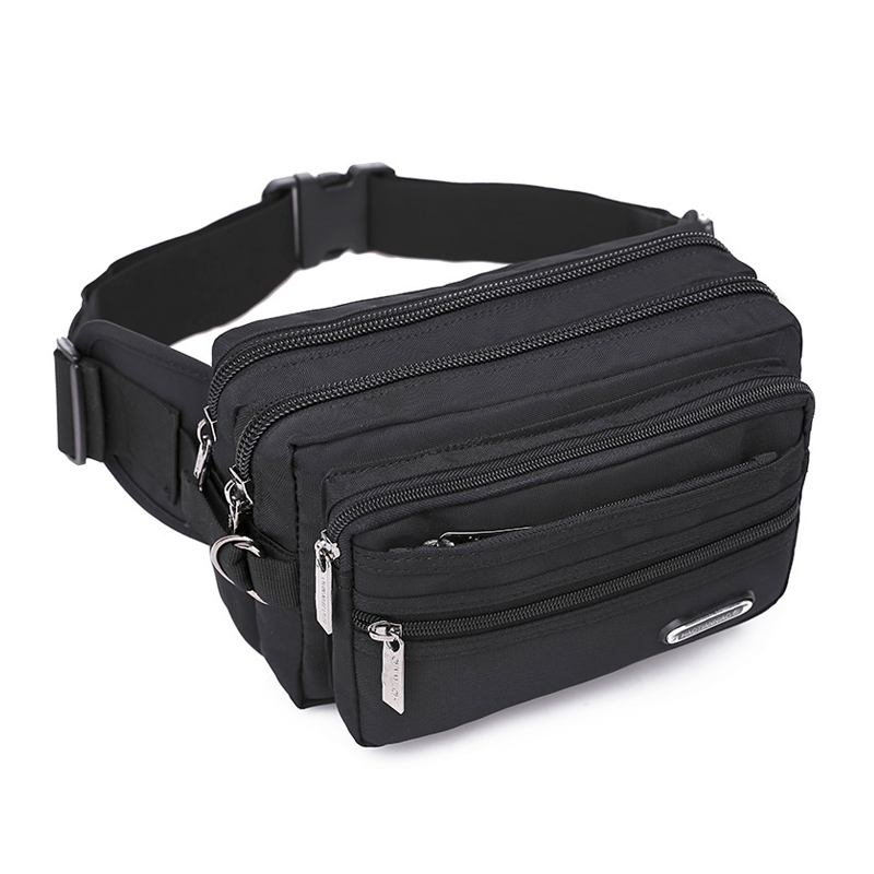 Riders racing waist bag Multi-layer large-capacity pockets men's pockets women waterproof Oxford fabric