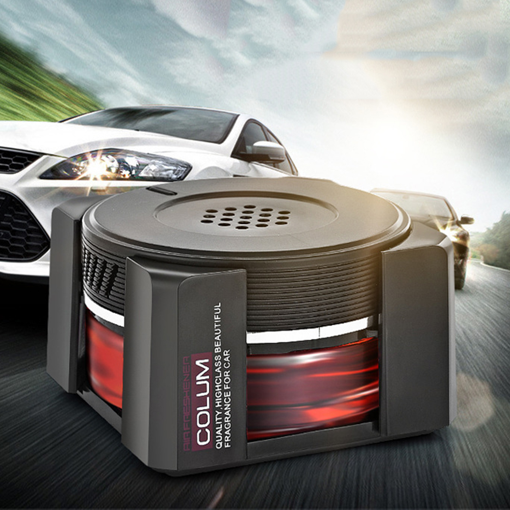 In Provided Car Fragrance Perfume Fresh Smell Solid Air Freshener Auto Interior Dashboard Decoration Accessory Trim Diffuser Adornment Gifts Fragrant Flavor