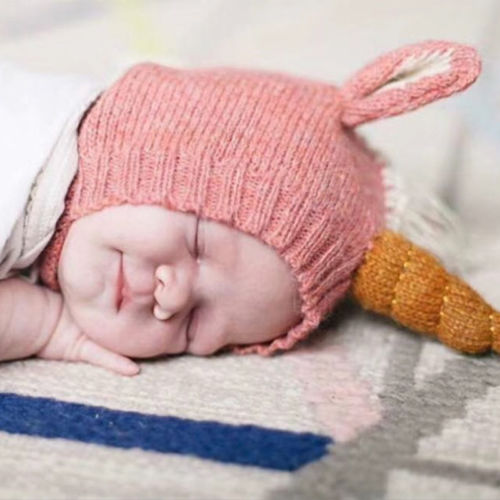 Cute Unicorn Winter Baby Beanie Hat Cap Warm Cute Kids Boys Girls Toddler Knitted