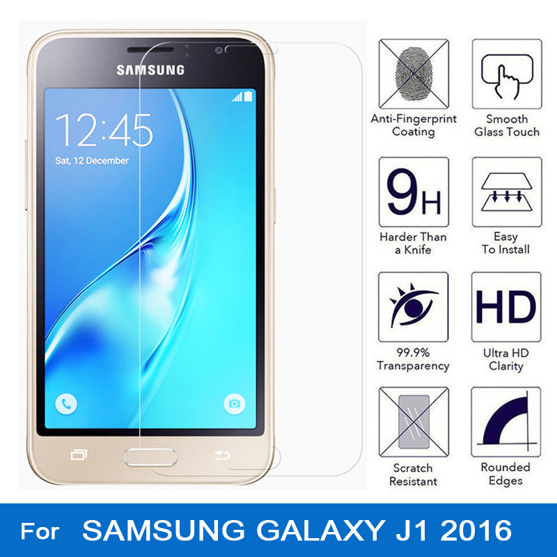 Tempered Glass for samsung galaxy j1 2016 Screen Protector Film for samsung galaxy j1 6 2016