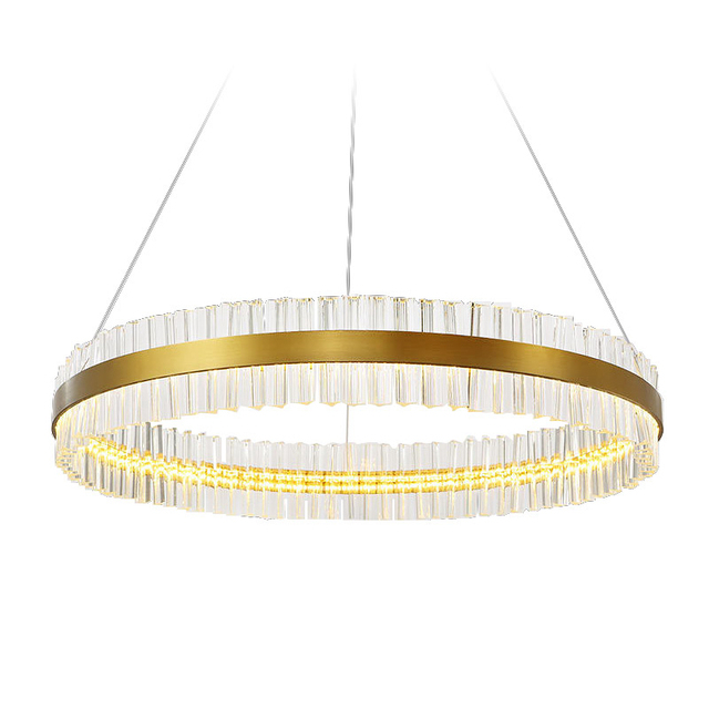 Modern round circle Dia.50cm hanging lamp 18W led dining room hall  pendant lamp household suspend lighting chandelier