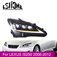 LSlight Car Accessories Headlight Assembly for Lexus IS250 2006 2007 2008 2009 2010 2011 2012 LED DRL Daytime Running Head Light