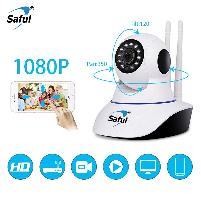 Saful IP Sem Fio Wi-fi Câmera 720 P/960 P/1080 P rede P2P Home Security Monitor Do Bebê Noite IR-cut Câmera de Vigilância