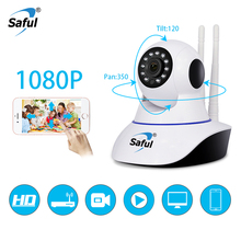 цена на Saful Onvif IP Camera WiFi Wireless 720P/960P/1080P Home Security Camera Surveillance Night P2P network IR-cut Baby Monitor