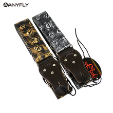 Original Rock You Death Metal Skull Devil Guitar Strap Widening Folk Guitar Straps Electric Guitar Strap  Bass Strap