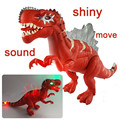 Favorito de los niños Electrónicos Con El Regalo En Caja Al Por Menor Jurassic Park Mundo Intermitente Sounding Juguetes Para Niños Juguetes de Dinosaurios De Plástico
