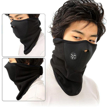 Outdoor Sports Fleece Face Mask Winter Ski Snowboard Hood Windproof Neck Warm Motorcycle Cycling Cap Hat Bicyle Mask Scarf