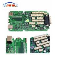 10pcs Lot DHL Free A Quality Newest 2015 R3 Keygen TCS CDP With Single Green PCB