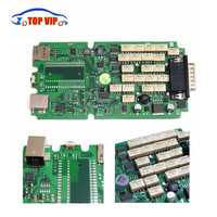 10pcs Lot DHL Free A Quality Newest 2015 R3 Keygen TCS CDP With Single Green PCB