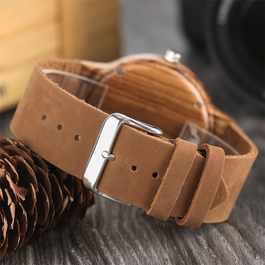 Nature Wooden Watch Handmade Beer Cork Dial Unisex Novel Deco Quartz Wristwatch Cool Clock Gift for Wine Fans relogio masculino (29)