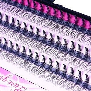 Image 4 - Moda 60 pçs profissional maquiagem individual cluster cílios olho enxertia falso cílios postiços