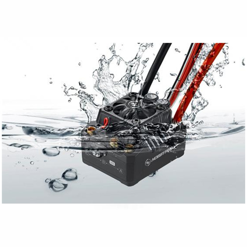 Tarot-rc 100% Hobbywing EZRUN Max10 120A ESC étanche sans balai ESC 1/10 SCT RC passe-temps camion MAX10-SCT 120A