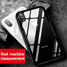 0.55MM Tempered Glass Phone Case for iPhone X, 7, 7 Plus, 8 and 8 Plus