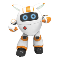 Colorful LED Recording Interactive Boys Gifts Singing Early Education 2.4G Remote Control Wireless Kids Moving Dancing Robot Toy