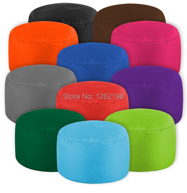 EASY CARRY many color Foot stool ottoman cover pouf round furniture pouffee floor cushion deco free shipping-in Stools u0026 Ottomans from Furniture on ...  sc 1 st  AliExpress.com : round foot stools - islam-shia.org