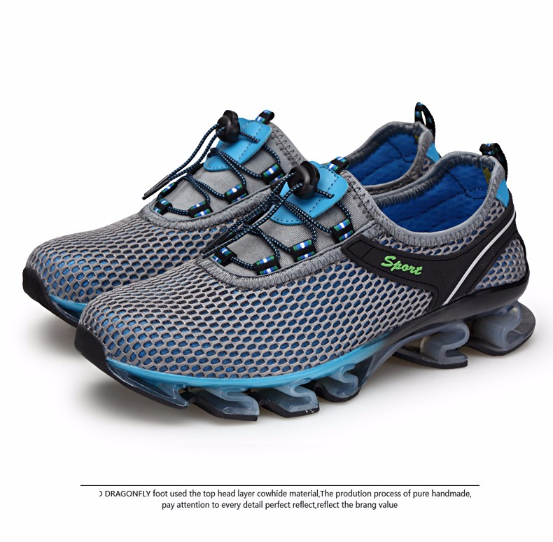 Super Cool breathable running shoes men sneakers bounce summer outdoor sport shoes Professional Training shoes plus size 33