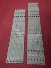 12 Teile/satz Led hintergrundbeleuchtung streifen Für 50PFK4309 50PFK4509 50PFH5300 50pfk4009 500TT26 500TT25 V5 50PFT4509 50PFL6340 50PFL6540