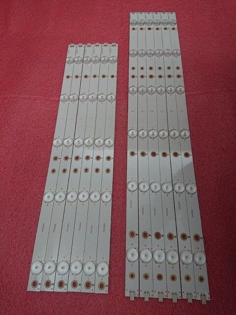 12 sztuk/zestaw listwa oświetleniowa LED dla 50PFK4309 50PFK4509 50PFH5300 50pfk4009 500TT26 500TT25 V5 50PFT4509 50PFL6340 50PFL6540