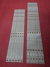 12 unids/set tira de LED para iluminación trasera para 50PFK4309 50PFK4509 50PFH5300 50pfk4009 500TT26 500TT25 V5 50PFT4509 50PFL6340 50PFL6540