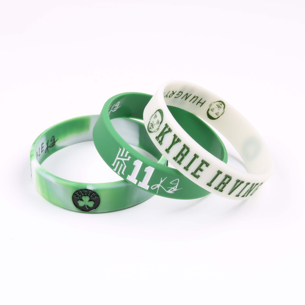 1 PC Kyrie Irving Avatar Silicone Bracelets New Style Boston Celtic Basketball Players Silicone Wristband Fashion Jewelry ...